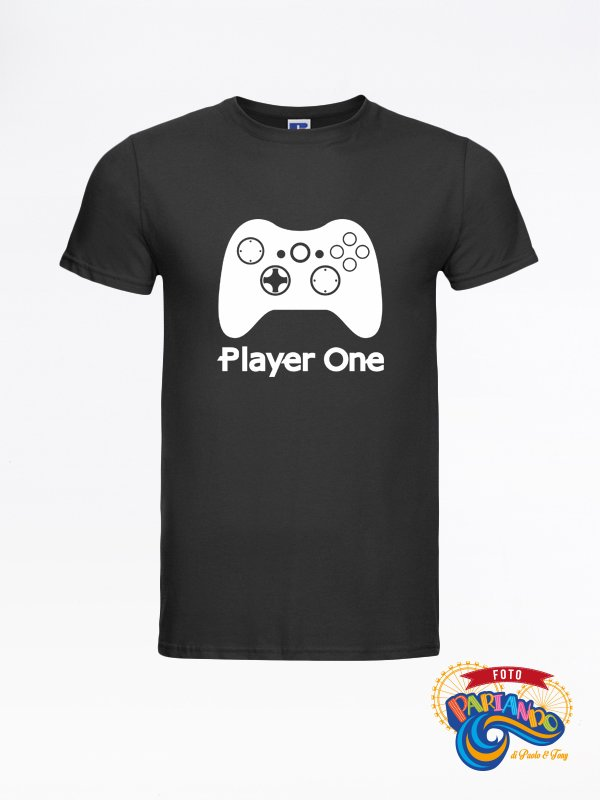 T shirt maglietta uomo player one xBox