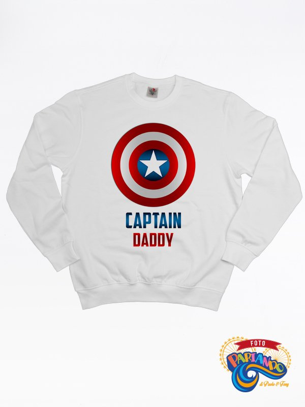 Felpa uomo captain daddy
