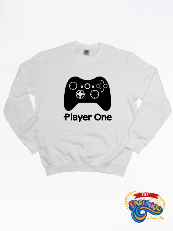 Felpa uomo player one xBox