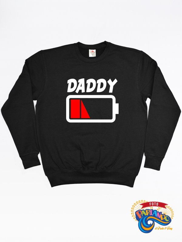 Felpa uomo daddy low batter