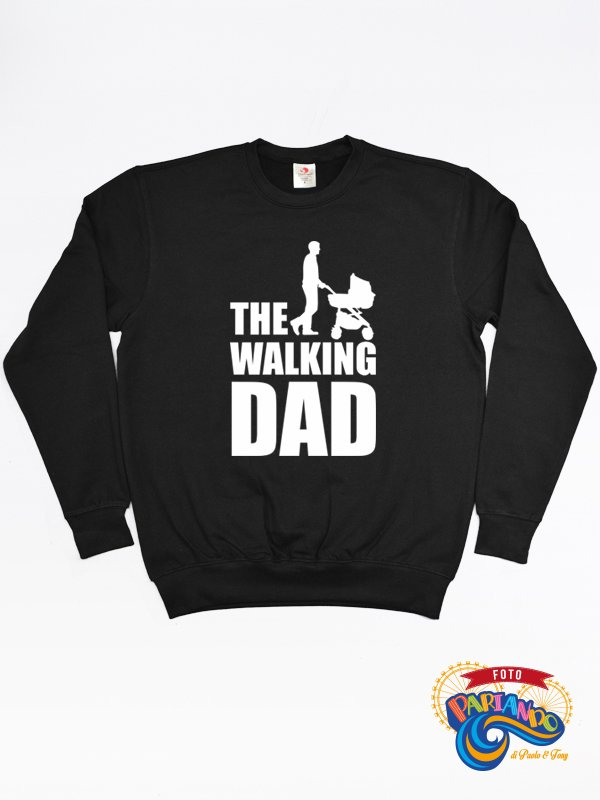Felpa uomo the walking dad